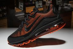 the best attitude 29a43 0467d Nike Air Max 2018 Elite Hot Black Orange Shoes For Men Nike Air Max Running,
