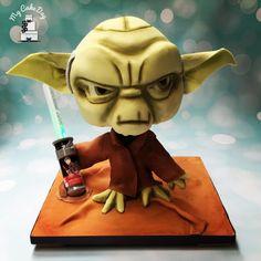 Yoda - Cake by My Cake Day