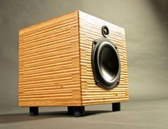 High End, Audiophile Speakers, designed and built in America