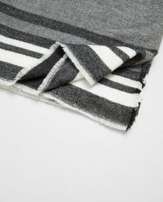 ZARA - COLLECTION SS/17 - STRIPED WRAP AROUND SCARF