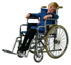 Wheelchair for young disabled people