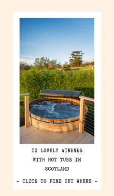 Researching the perfect Scotland travel itinerary and looking for affordable accommodation with hot tubs? This guide shares the best Scotland Airbnbs with hot tubs in the Scottish Highlands, central belt and west coast.