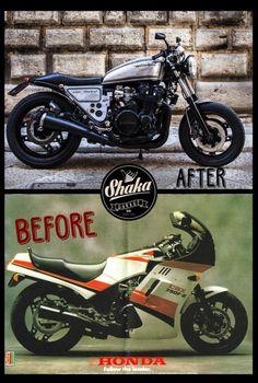 Honda CBX750 Cafe Racer by Shaka Garage #motorcycles #caferacer #motos | caferacerpasion.com