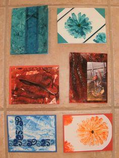 more encaustic cards