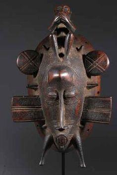 The art expressed by the Senufo Senufo mask