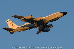 https://flic.kr/p/wkELYf | Boeing RC-135W Rivet Joint | 62-4135 38th Reconnaissance Squadron (38 RS) Red Flag 15-3 Nellis AFB, NV USA