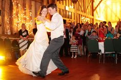 The first dance wedding photo at The Friars, Aylesford