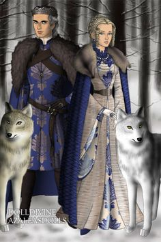Prince of Whitewoods ~ by Inanna ~ created using the Game of Thrones doll maker   DollDivine.com