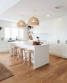 Home Decor Kitchen, Kitchen Living, Kitchen Interior, New Kitchen, Home Kitchens, Kitchen Design, Home Renovation, Sweet Home, House Design