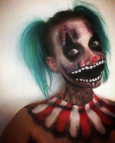 Clown Halloween look... . . . #makeup #makeupartist #clown #halloween…