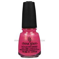 China Glaze Nail Polish - #716 Strawberry Fields 80224