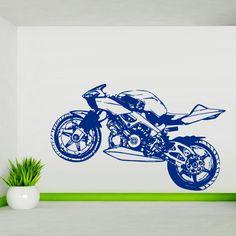Wall Decal Art Decor Decals Sticker Bedroom Design Mural Tribal Dirt Bike Moto Motorcycle (M901) DecorWallDecals http://www.amazon.com/dp/B00IHBBN46/ref=cm_sw_r_pi_dp_PxH2ub0094VW9