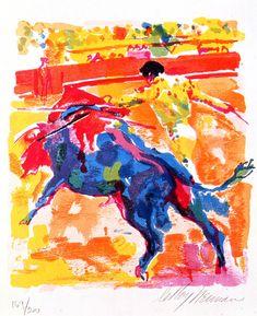 Bullfight   LeRoy Neiman #leroyneiman