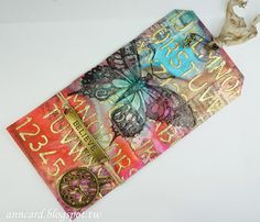 Tim Holtz 12 tags of 2015 - March