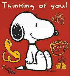 Thinking of you Snoopy Images, Snoopy Pictures, Charlie Brown Quotes, Charlie Brown And Snoopy, Peanuts Cartoon, Peanuts Snoopy, Meu Amigo Charlie Brown, Snoopy Wallpaper, Pomes