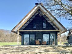 wonen 55 - Bekhuis & KleinJan Small Tiny House, Tiny House Design, Shed Homes, Cabin Homes, Cabins In The Woods, Next At Home, Exterior Design, Modern Farmhouse, House Plans
