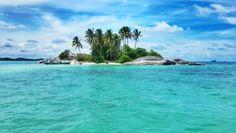 Love belitong island