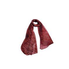 Echarpe Riscos Coloridos Vinho de Algodão #echarpes #lenços #lenço #scarf #scarfs