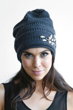 6ed1735216b I shall knit a beanie like this some day.