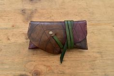 Diy Leather Tobacco Pouch, Leather Pouch, Handmade Leather, Leather Craft, Leather Dye, Elvish, Fathers Day Gifts, Clutch Bag, Sunglasses Case