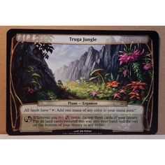 Truga Jungle Oversize -MTG Planechase 2012 M/NM Magic the Gathering OVERSIZE Listing in the Magic The Gathering,Film, TV & Fantasy,Trading Cards & CCGs,Collectables Category on eBid Canada | 150035214