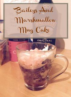 A Strong Coffee: Baileys and Marshmallow Mug Cake and Degustabox Review