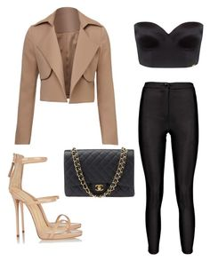 """""""Untitled #10"""" by lluviagb on Polyvore featuring Ultimo, Giuseppe Zanotti and Chanel"""