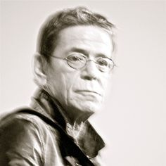 """Jack's in his corset, Jane is in her vest. and me I'm in a rock 'n' roll band. Huh.""--Lou Reed. Photograph: Manolo Mantero"