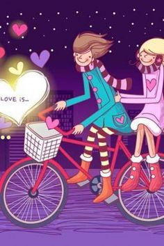 Download Wallpaper Of Love Couple Cartoon Hd New Wallpaper Of Love