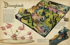 Fantasyland rides (1955) | Flickr - Photo Sharing!