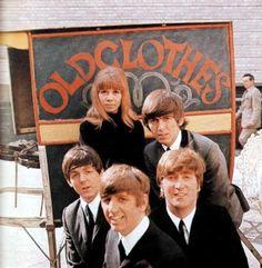 The Beatles and Astrid kircherr