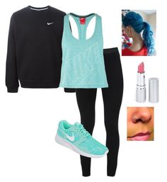 """Nike tag"" by penguinspandas5sos ❤ liked on Polyvore featuring art"