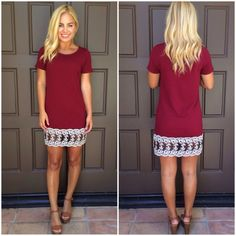 Against the Odds Shift Dress. $39. Dainty Hooligan Boutique.