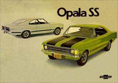 4945 - GM - CHEVROLET - Opala SS - Placa AA-3075 - 29x41.