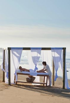 Relax and discover authentic Moroccan spa treatments on our spa and yoga holiday at Paradis Plage.