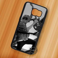 5SOS Michael Clifford Guitar - Samsung Galaxy S7 S6 S5 Note 7 Cases & Covers