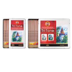 Koh-I-Noor Tri-Tone Colored Pencil Sets - JerrysArtarama.com