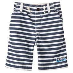 Genuine Kids from OshKosh™ Infant Toddler Boys Stripe Short - Aerial Blue.Opens in a new window