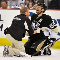 There's no crying in Hockey!