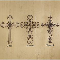 """Wrought Iron"" Cross from TP rolls - 2 Crochet Hooks : 2 Crochet Hooks"