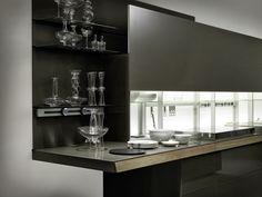 Cocina con isla GENIUS LOCI by VALCUCINE | diseño Gabriele Centazzo