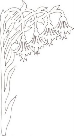 Вычинанки и киригами (цветы) - AngelOlenka - Λευκώματα Iστού Picasa