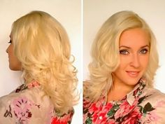 Super easy curls overnight. **Just don't wet the hair nearest your pony tail or you'll not get what you wanted**