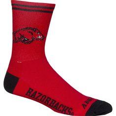 Arkansas Razorbacks NCAA Cycling Socks
