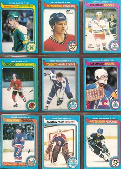 64-72 Steve Payne, Pat Hughes, Mike McEwen, Reg Kerr, Walt McKechnie, Michel Plasse, Denis Potvin, Dave Dryden, Gary McAdam