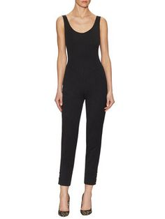 Wool Sleeveless Jumpsuit from Designer Getaway: Milan-Inspired Style on Gilt
