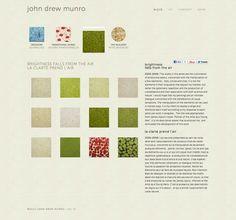 Website, Montréal artist John Drew Munro Portfolio Website, Artist, Artists