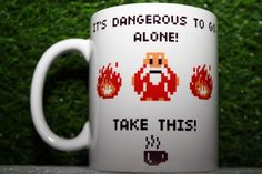 It's Dangerous to Go Alone Take This The Legend of Zelda Coffee Mug 1x | eBay