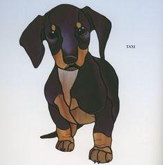 So many fantastic patterns in Dog Designs by Tessa McOnie