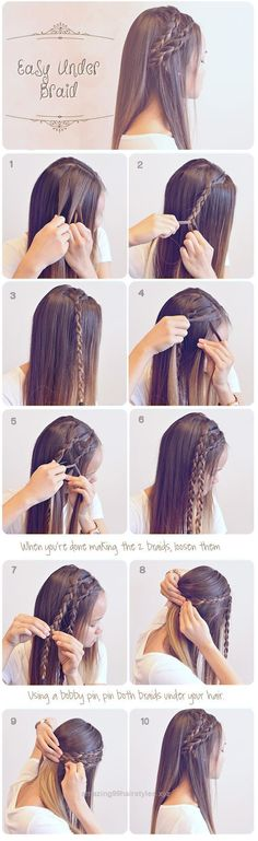 Superb Easy Braided Hairstyles for Summer #hair #hairstyles #frisuren The post Easy Braided Hairstyles for Summer #hair #hairstyles #frisuren… appeared first on Amazing Hairstyles .